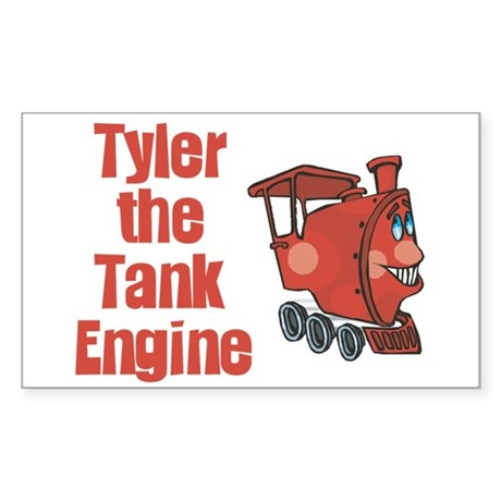 Tyler the Tank Engine Rectangle Sticker