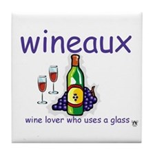 Wineaux Tile Coaster