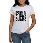 Reality TV Sucks Women's T-Shirt