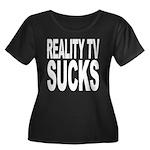 Reality TV Sucks Women's Plus Size Scoop Neck Dark