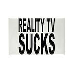 Reality TV Sucks Rectangle Magnet