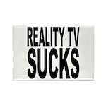Reality TV Sucks Rectangle Magnet (100 pack)