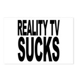 Reality TV Sucks Postcards (Package of 8)