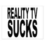 Reality TV Sucks Small Poster