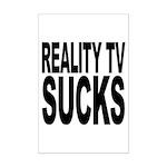 Reality TV Sucks Mini Poster Print