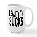 Reality TV Sucks Large Mug