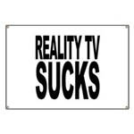Reality TV Sucks Banner