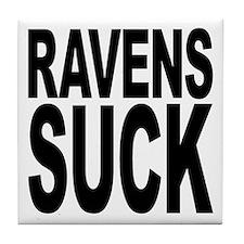 Ravens Suck Tile Coaster