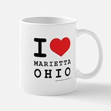 I Love Marietta, Ohio Mug