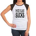 Rhode Island Sucks Women's Cap Sleeve T-Shirt