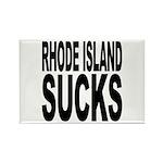 Rhode Island Sucks Rectangle Magnet (10 pack)