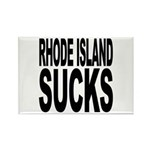 Rhode Island Sucks Rectangle Magnet (100 pack)