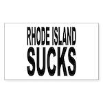 Rhode Island Sucks Rectangle Sticker