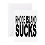 Rhode Island Sucks Greeting Card