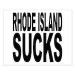 Rhode Island Sucks Small Poster