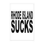 Rhode Island Sucks Mini Poster Print