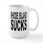 Rhode Island Sucks Large Mug