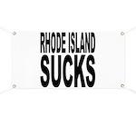 Rhode Island Sucks Banner