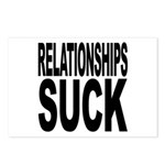 Relationships Suck Postcards (Package of 8)