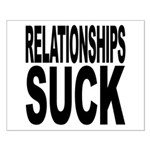 Relationships Suck Small Poster