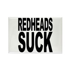Redheads Suck Rectangle Magnet