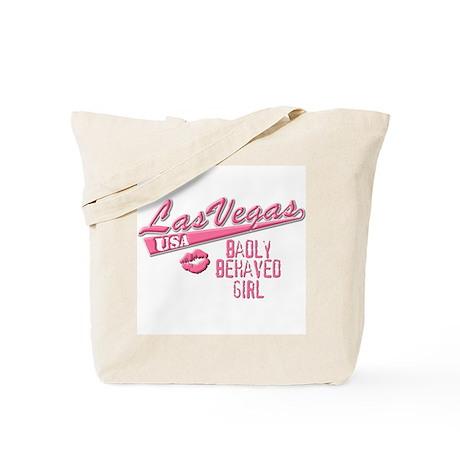 Badly Behaved Girl Tote Bag