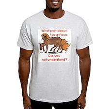 Paca-Paca ? Ash Grey T-Shirt