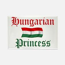 Hungarian Princess 2 Rectangle Magnet