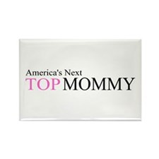 America's Next Top Mommy Rectangle Magnet (10 pack