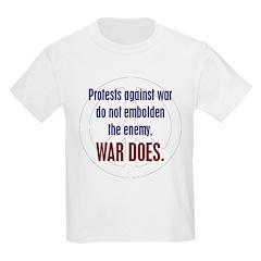 Koy's Logo + War Does Kids T-Shirt