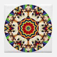 Colorful Kip Tile Coaster