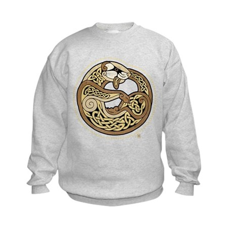 Celtic Ferret Kids Sweatshirt