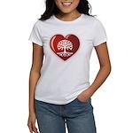 Heart Genealogy Women's T-Shirt