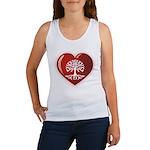 Heart Genealogy Women's Tank Top