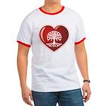 Heart Genealogy Ringer T