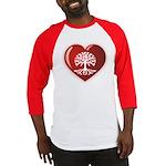Heart Genealogy Baseball Jersey