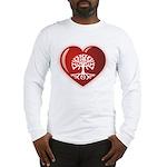 Heart Genealogy Long Sleeve T-Shirt