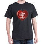 Heart Genealogy Dark T-Shirt