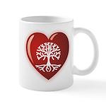 Heart Genealogy Mug