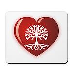 Heart Genealogy Mousepad