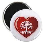 Heart Genealogy Magnet