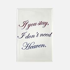 Romantic Twilight Quote Rectangle Magnet