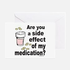 MEDICATION Greeting Card