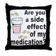 MEDICATION Throw Pillow
