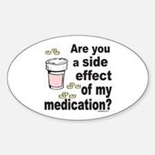 MEDICATION Oval Decal