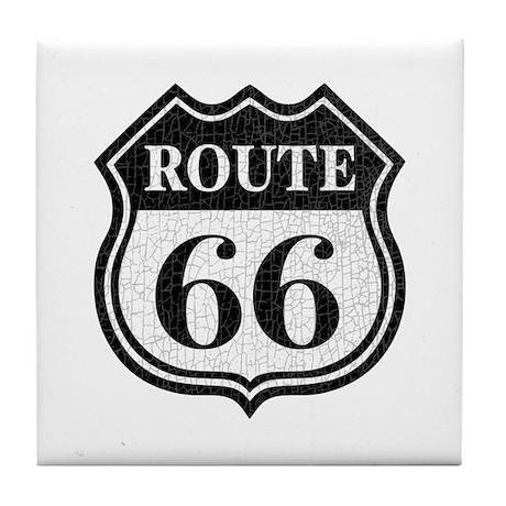 Route66-dist Tile Coaster