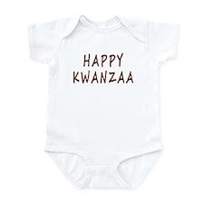Happy Kwanzaa Onesie