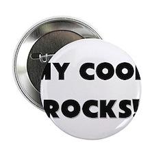 "MY Cook ROCKS! 2.25"" Button"