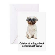 Best Friend Lhasa Apso Greeting Cards (Pk of 20)