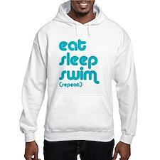 Eat, Sleep, Swim Jumper Hoody